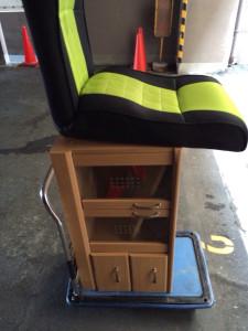 菊池郡でカラーBOX、椅子等の回収写真