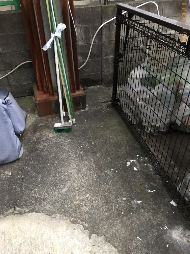 【熊本市東区】電子レンジ、衣装ケース、アイロン台の回収・処分