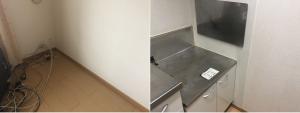 山江村でお引っ越しに伴う不用品(ガスコンロ、テレビボード)の回収のご依頼 お客様の声