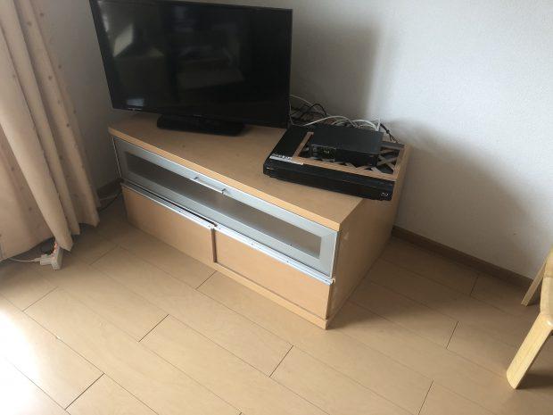 【山江村】ガスコンロ、テレビボードの回収☆早めの対応で、お引っ越しを控えているお客様にご満足いただけました!