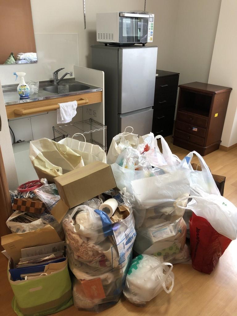 【南関町】遺品整理に伴う家具家電、家庭ゴミなどの回収☆迅速丁寧な対応だった!とご満足いただけました。
