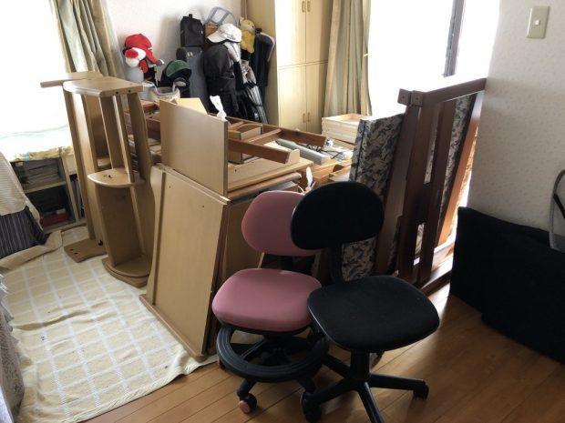 【葦北郡芦北町】学習机などの回収☆お部屋が片付きお喜びいただけました!