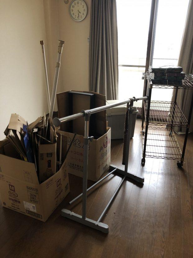 【八代市】家具や雑貨などお引っ越しに伴う不用品回収