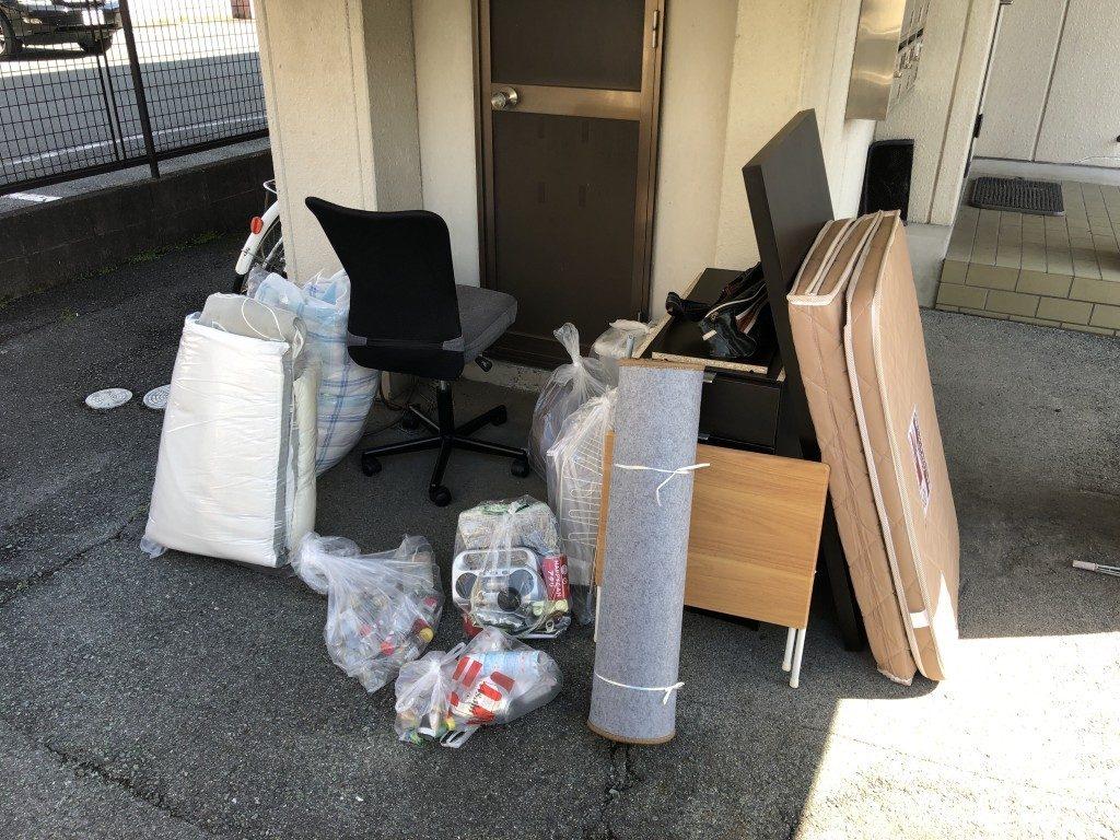 マットレスや学習机などお引っ越しに伴う不用品回収