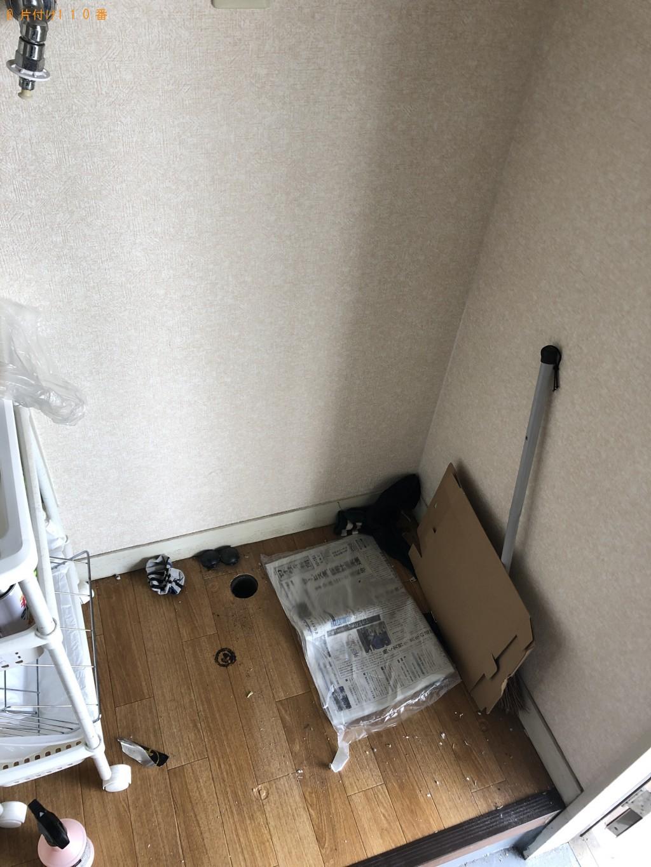 【合志市】冷蔵庫等の出張不用品回収・処分ご依頼 お客様の声