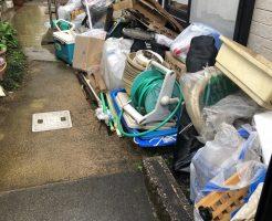 【熊本市中央区】物置内の不用品回収☆車両変更も柔軟に対応でき、大変ご満足いただけました!