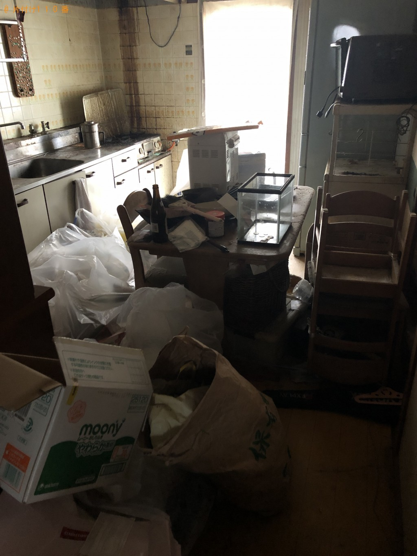 【益城町】2トントラック1台程度の出張回収・処分ご依頼