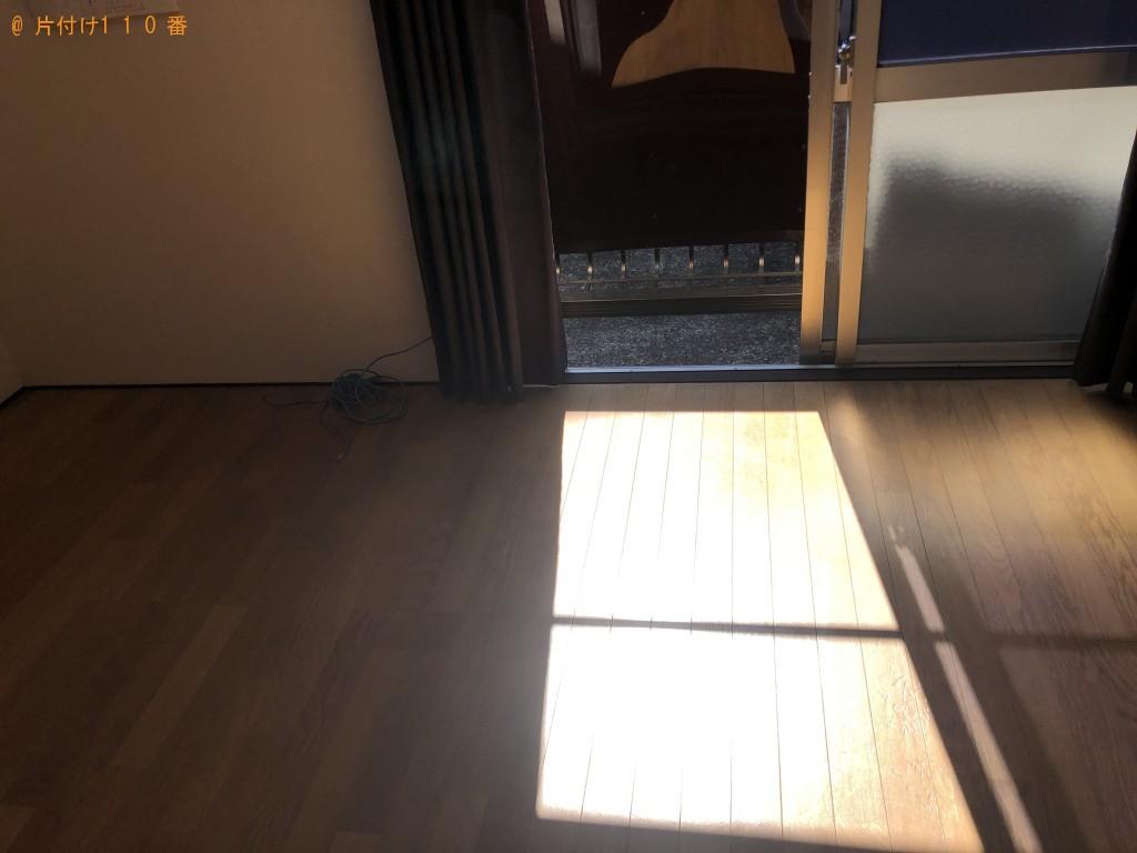 【熊本市中央区】引っ越しに伴う不用品回収・処分 お客様の声