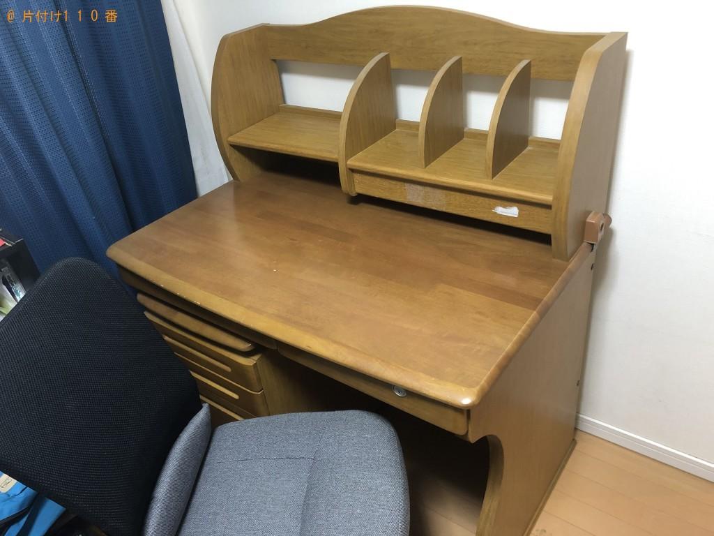 【天草市】学習机、椅子の出張不用品回収・処分ご依頼