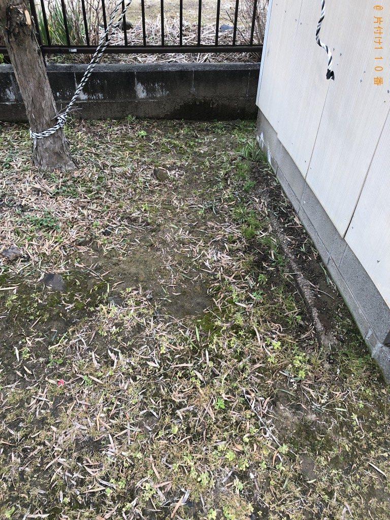 【熊本市南区】軽トラック1台程度の不用品処分ご依頼 お客様の ...