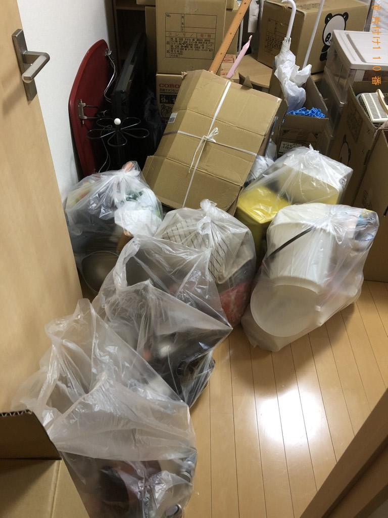 【八代市宮地町】2t約1台程度の出張不用品回収・処分ご依頼