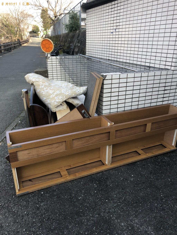 【熊本市中央区】シングルベッドフレームと布団の処分 お客様の声