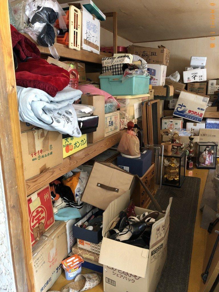 【天草郡苓北町】布団、テーブル、日本人形等の回収・処分ご依頼