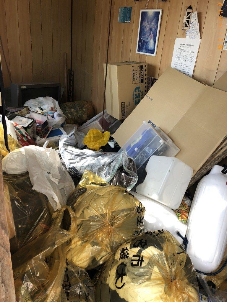 【玉名市岱明町】2tトラック1台程度の大量のゴミの回収・処分