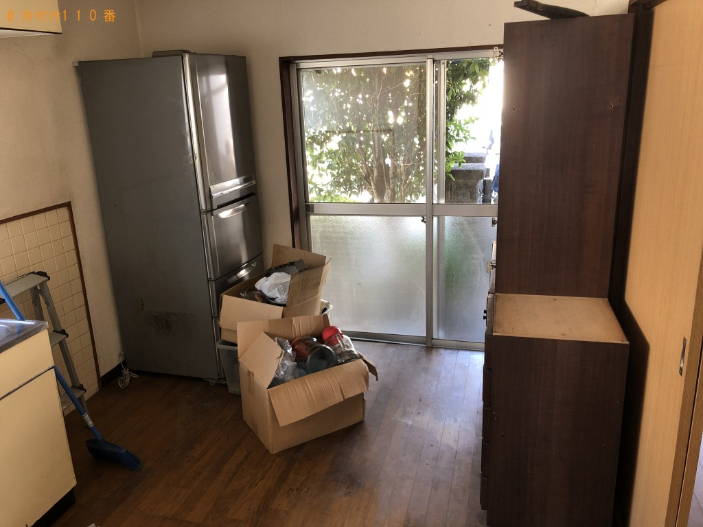 【熊本市東区】冷蔵庫、洗濯機、整理ダンスの回収・処分ご依頼