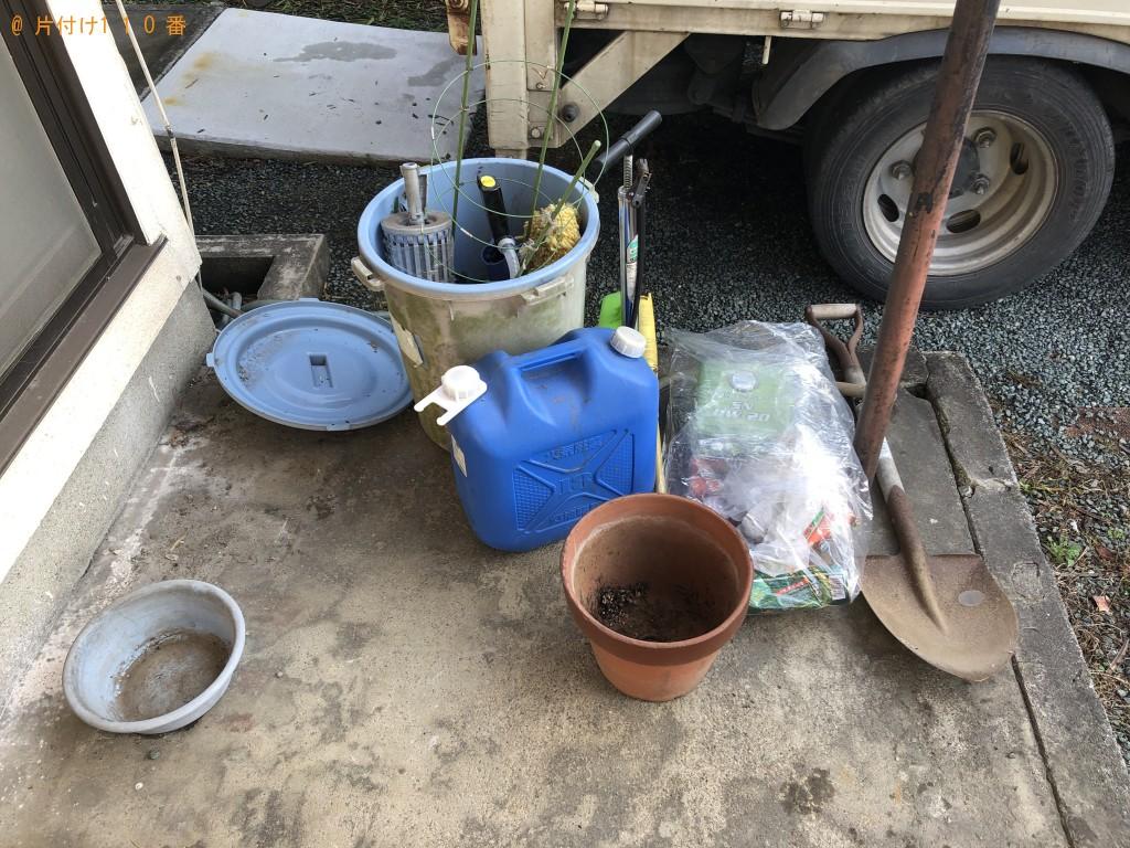 【熊本市東区】扇風機、カラーボックス、すのこ、灯油缶の回収・処分