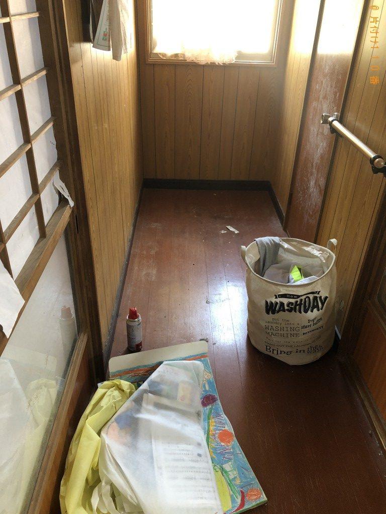 【人吉市大畑麓町】2tトラック1台程度の出張不用品の回収・処分ご依頼