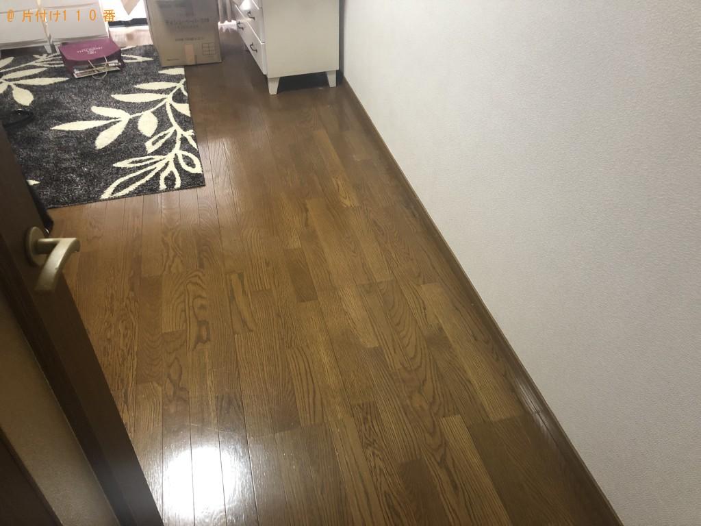 【熊本市東区】シングルベッド、脚付マットレスの回収・処分ご依頼