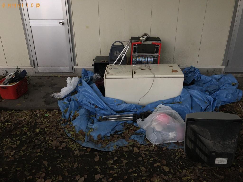 【小国町】冷蔵庫、電子レンジ、パチスロ機、ゲーム機の回収