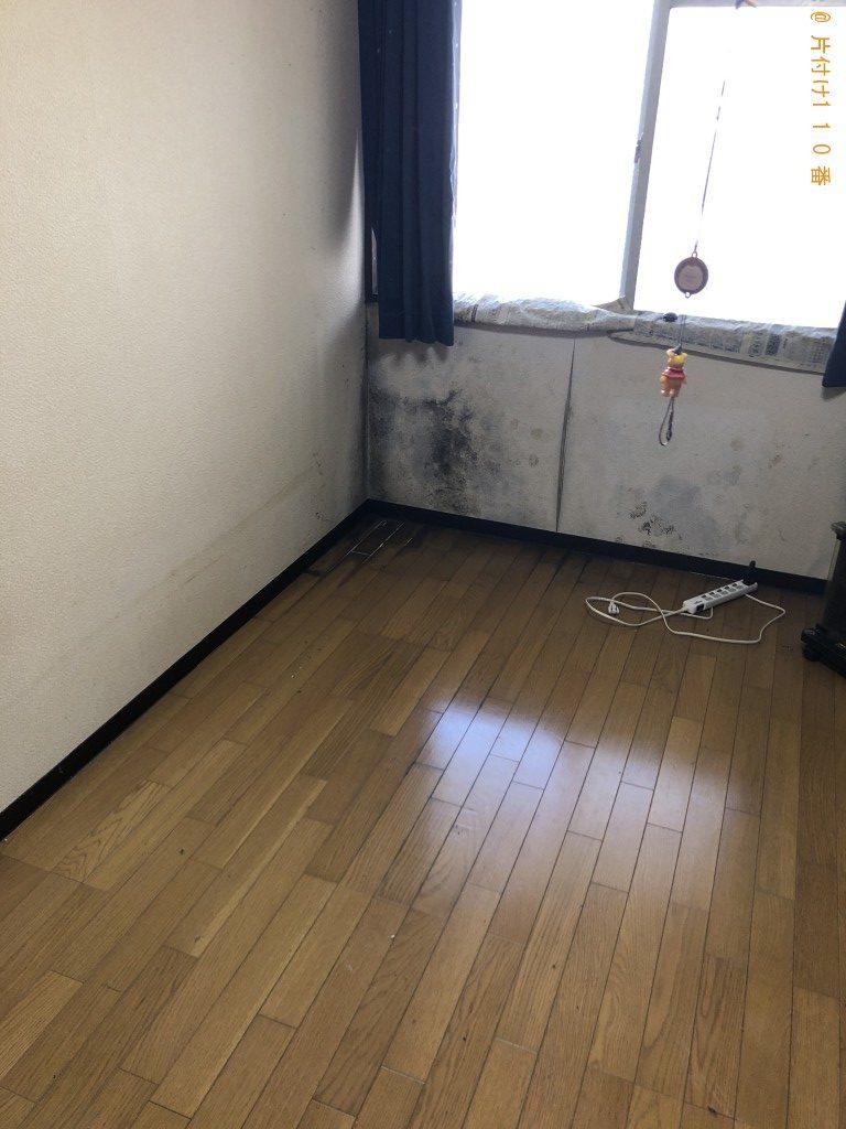 【熊本市中央区】収納棚、分別なし衣類、布団等の回収・処分