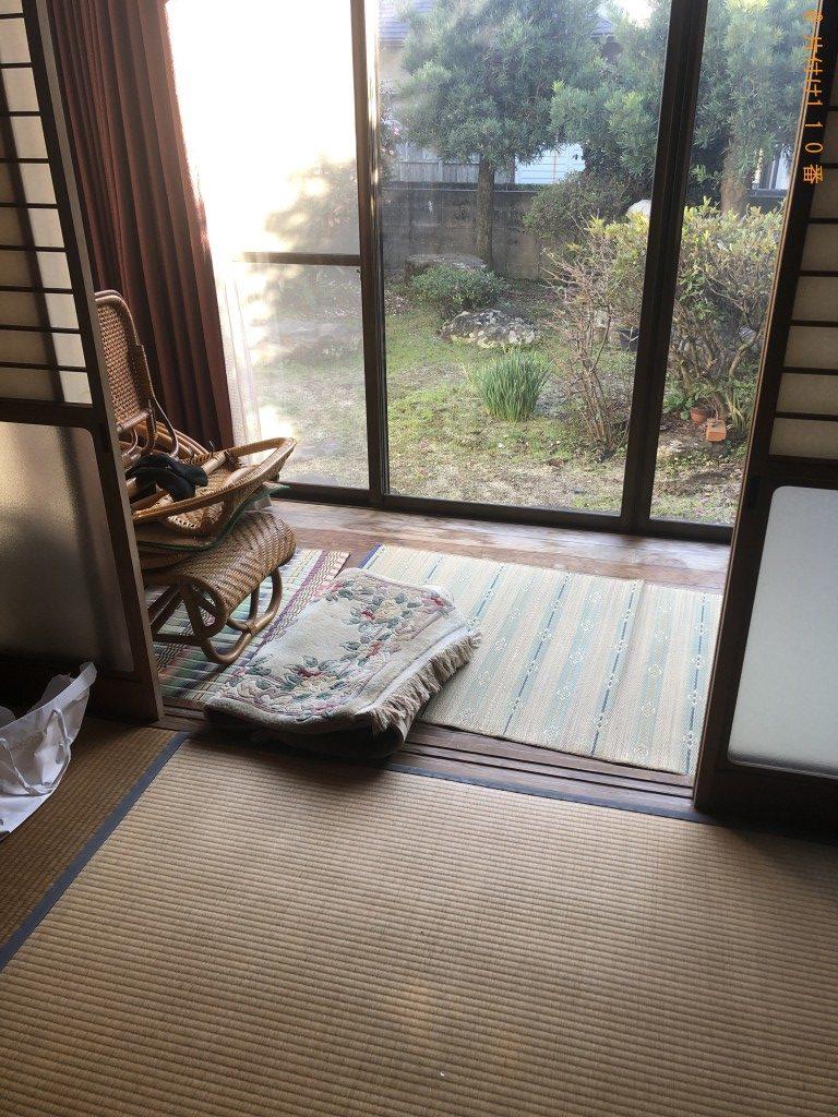 【熊本市】ソファー、ドレッサー、本、ストーブ等の回収・処分ご依頼