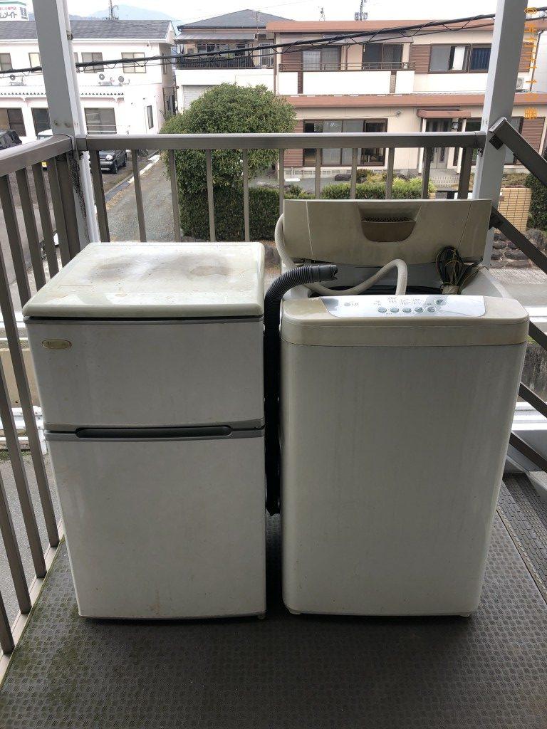 【熊本市西区】冷蔵庫、洗濯機等の回収・処分ご依頼 お客様の声