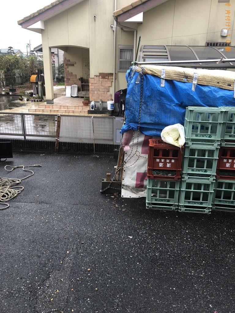 【熊本市南区】4人用ダイニングテーブル(椅子付) の回収・処分