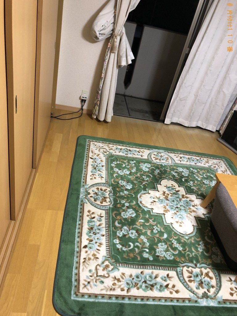 【熊本市北区】掃除機、加湿器、衣装ケース、布団の回収・処分ご依頼