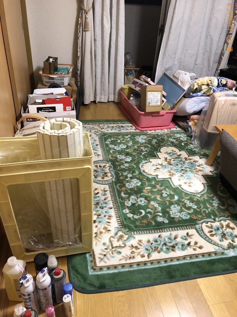 【宇城市】掃除機、加湿器、衣装ケース、布団の回収・処分ご依頼