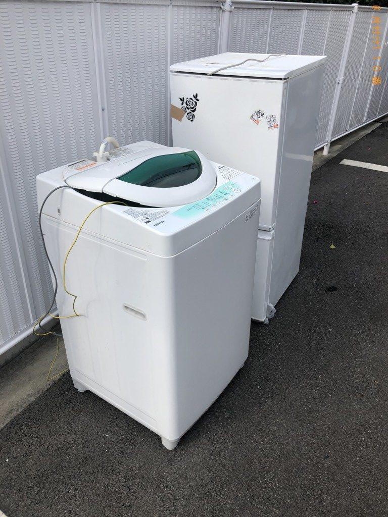 【甲佐町】冷蔵庫、洗濯機の回収・処分ご依頼 お客様の声