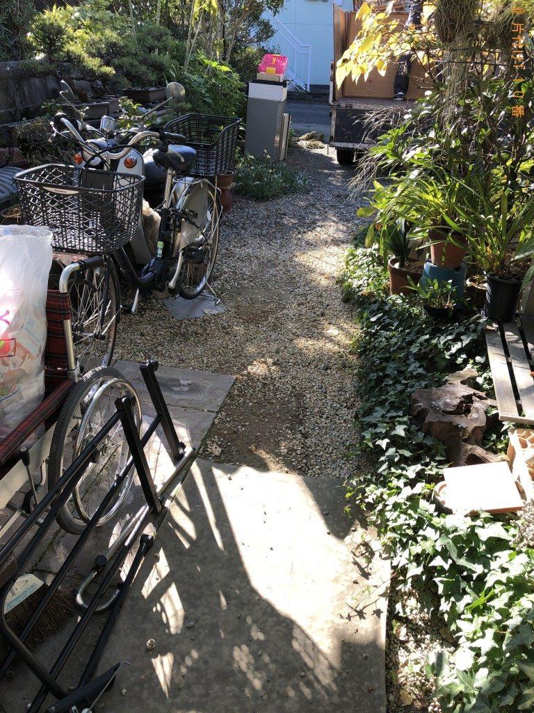 【八代市錦町】エアコン、食器棚、学習机、分別なし家庭ごみ等の回収