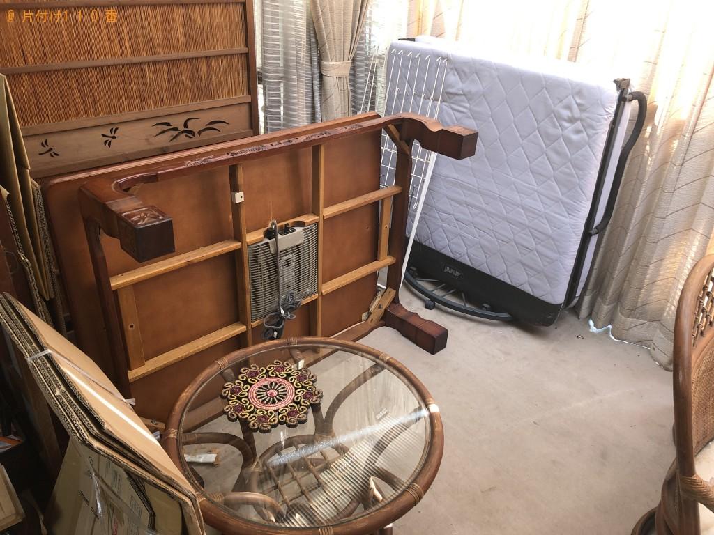 【熊本市中央区】折り畳みベッド、サイドボード等の回収・処分ご依頼
