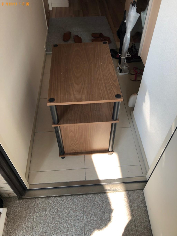 【熊本市】三人掛けソファー、テレビ台の回収・処分ご依頼
