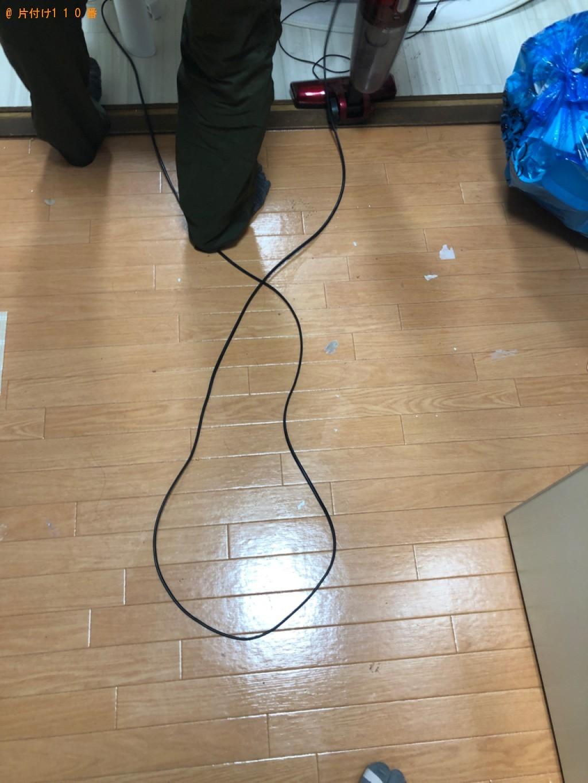 【熊本市】片付け作業と不用品の回収・処分、水回りの清掃ご依頼