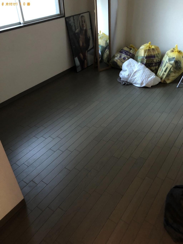 【熊本市】ソファー、テレビ台、マットレス付きダブルベッド等の回収