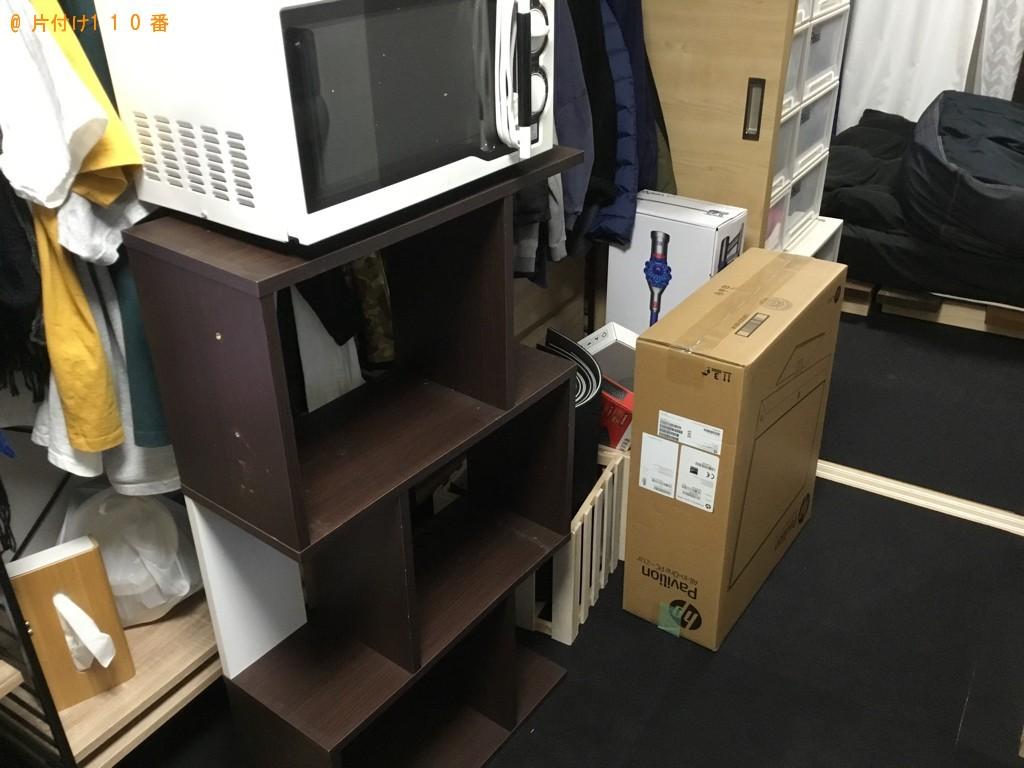 【熊本市】遺品整理に伴いカラーボックス、ラック、ローテーブル等の回収・処分