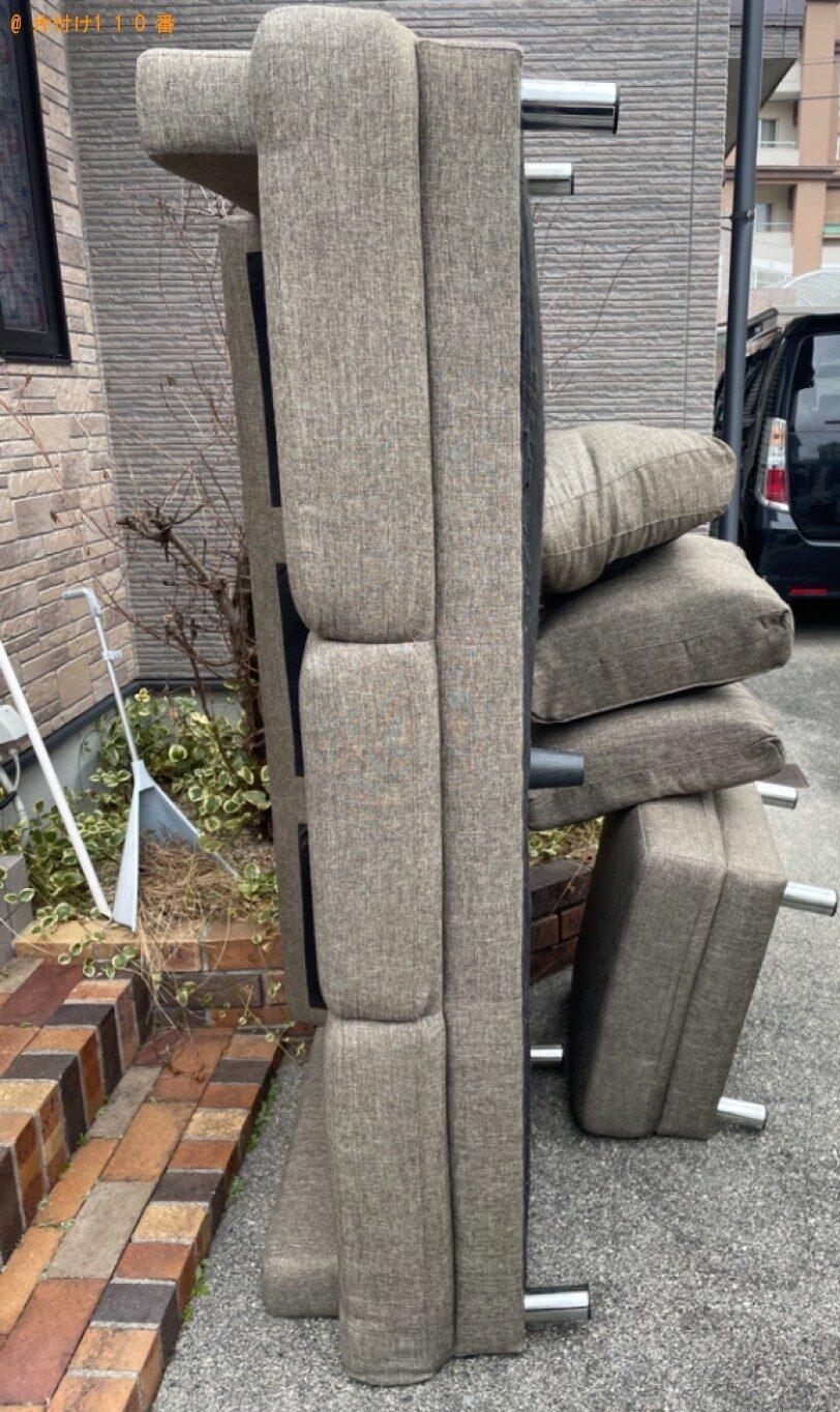 【熊本市】ソファーの回収・処分ご依頼 お客様の声