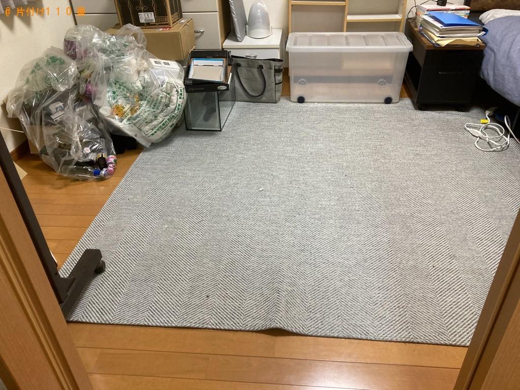 【熊本市】ソファーベッド、電化製品、ダンボール等の回収・処分