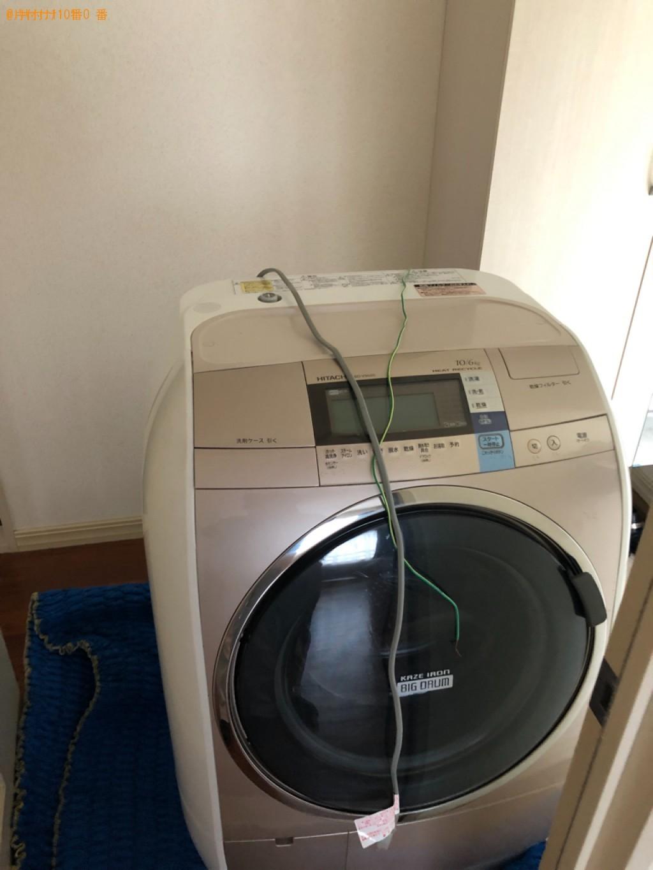 【熊本市】ドラム式乾燥機付き洗濯機の回収・処分ご依頼 お客様の声