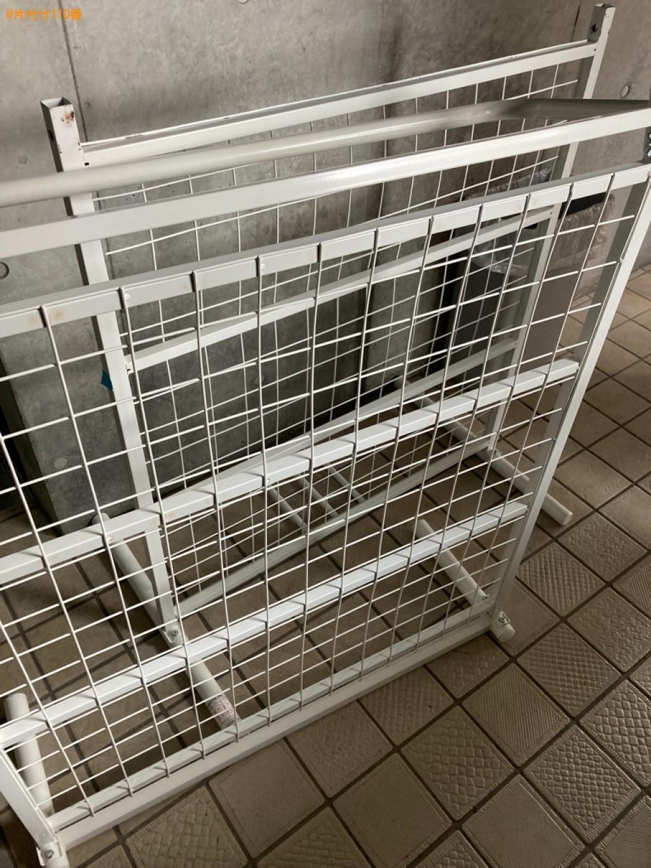 【熊本市】本棚、食器棚、マットレス付きシングルベッド等の回収