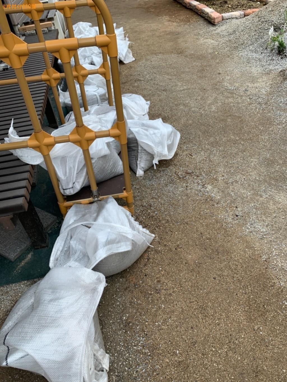 土嚢の回収・処分ご依頼 お客様の声